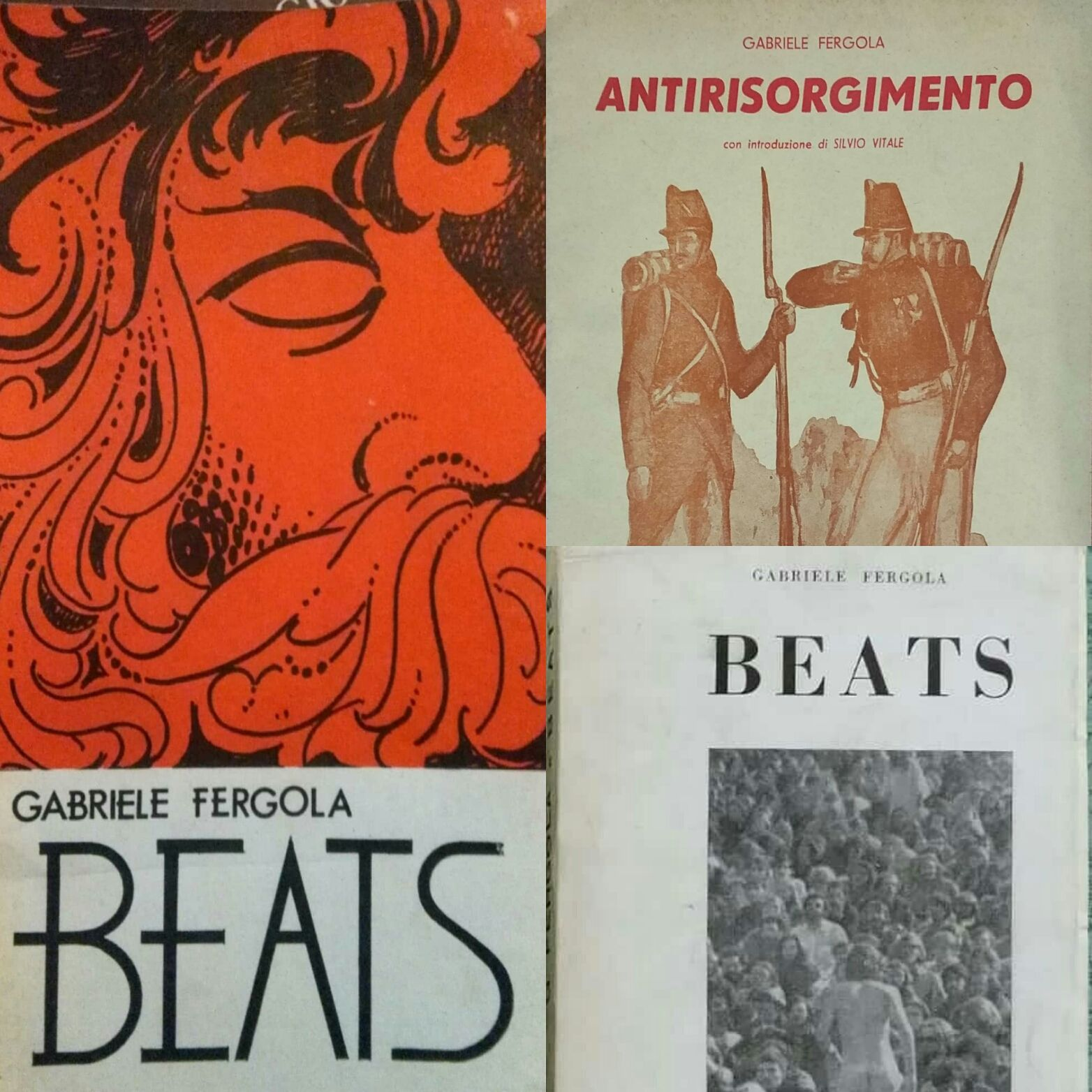 Beats, un introvabile di Gabriele Fergola – anzi due! No, tre!