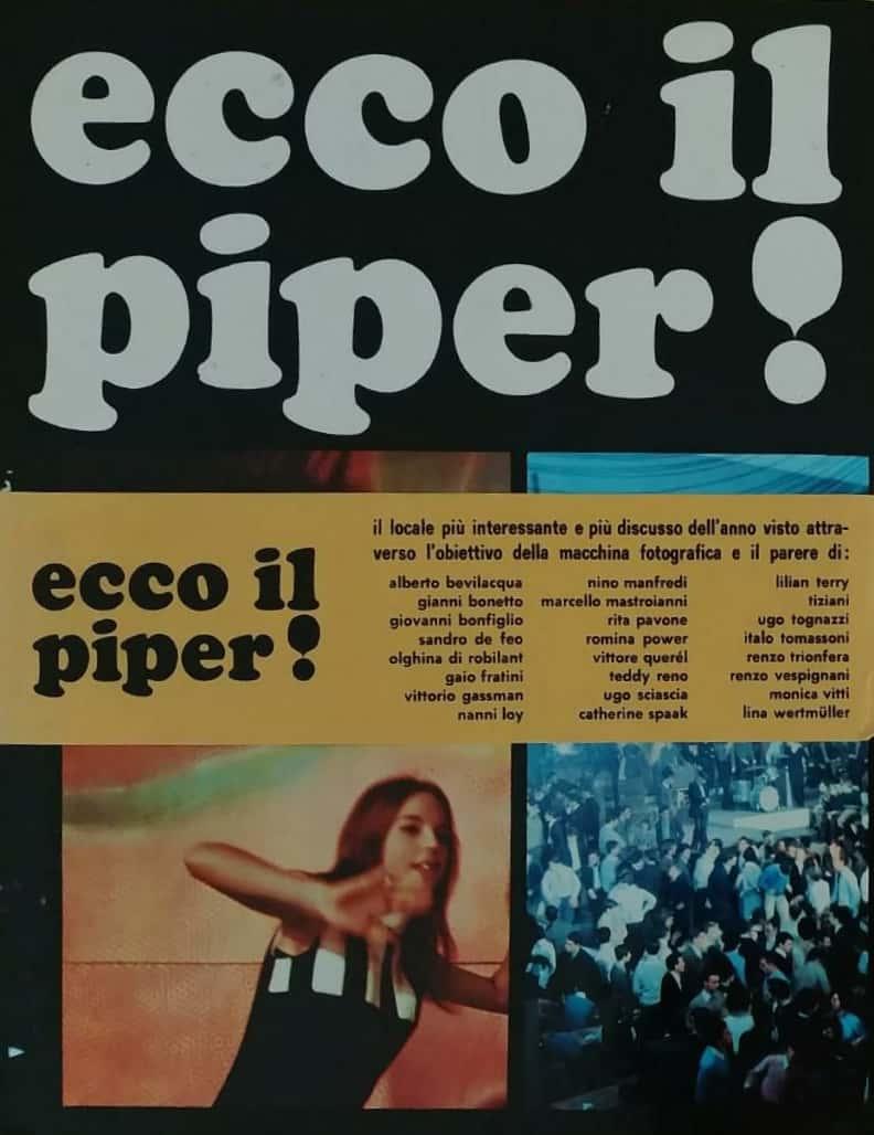 """""""Ecco il Piper!"""", primo atto del fenomeno Beat in Italia. Ma chi l'ha visto?"""