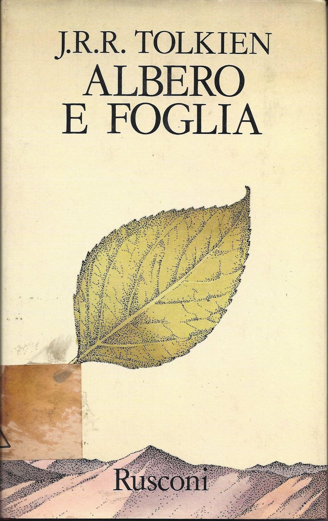 """""""Albero e foglia"""", di J. R. R. Tolkien avvistato a 30 €"""