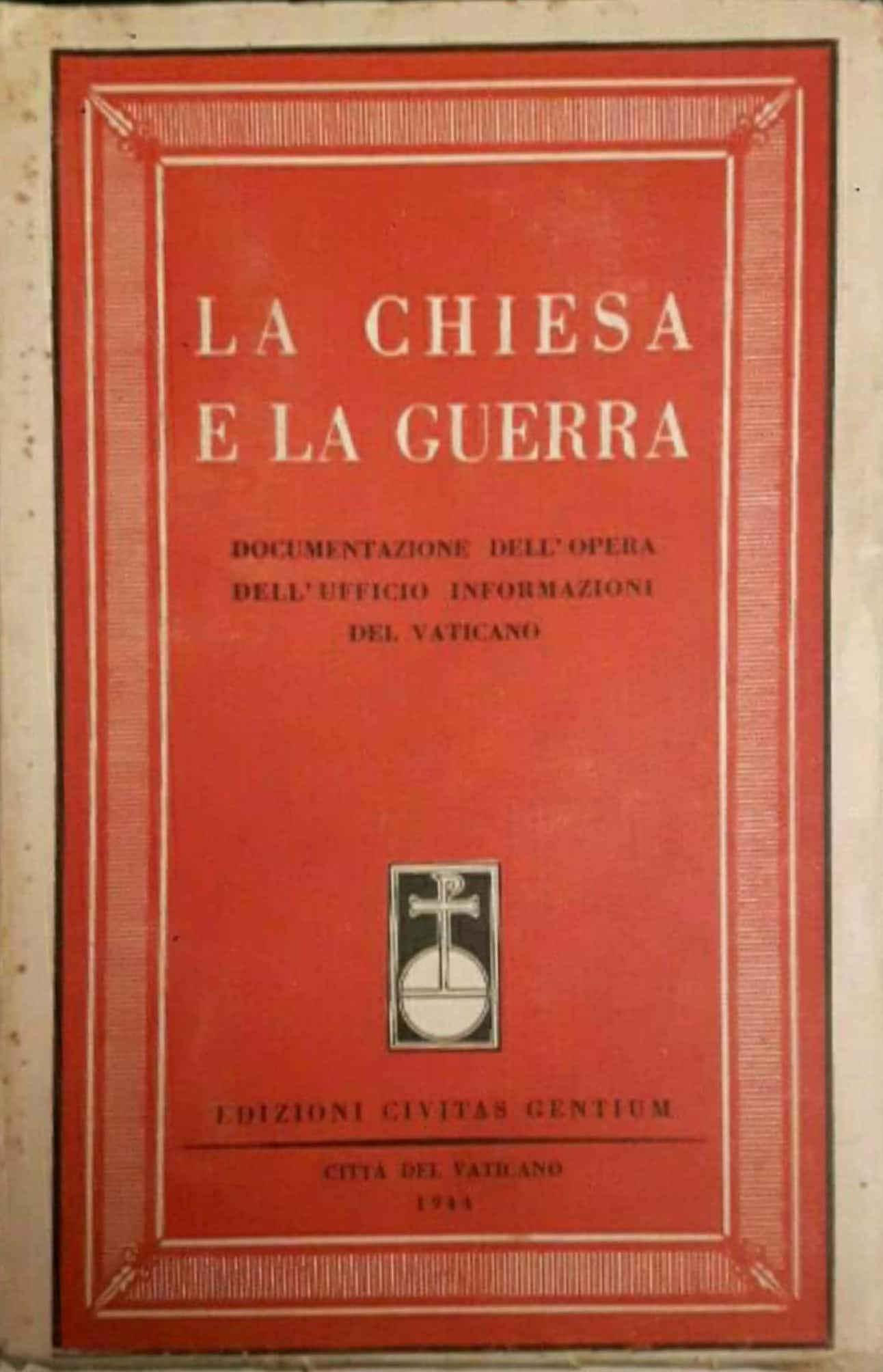 La Chiesa e la Guerra (e i dischi volanti?) delle Edizioni Civitas gentium