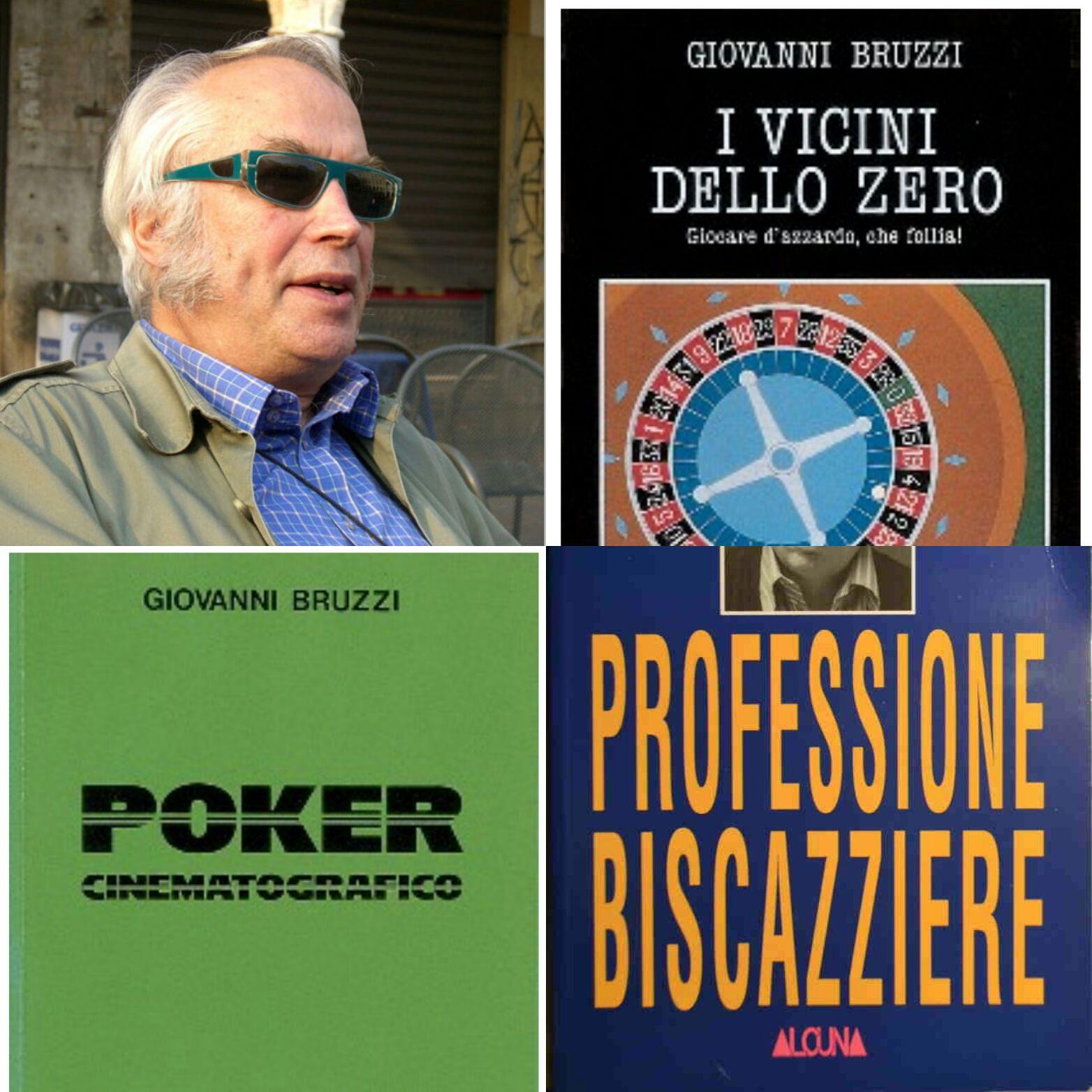 """Il libri dell'ex """"biscazziere"""" Giovanni Bruzzi vanno a ruba"""