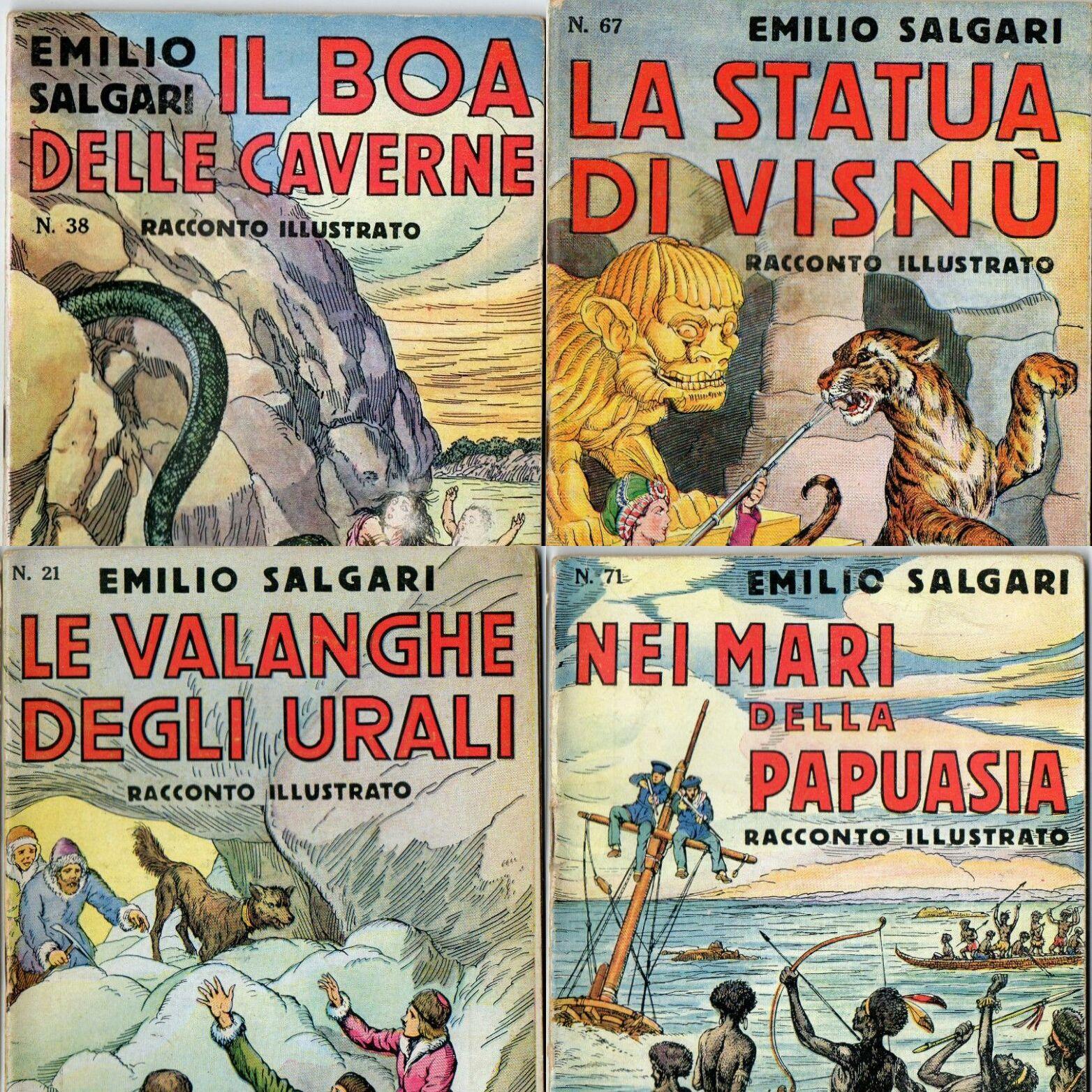 """…su eBay ci sono """"I racconti illustrati"""" Sonzogno di Emilio Salgari"""