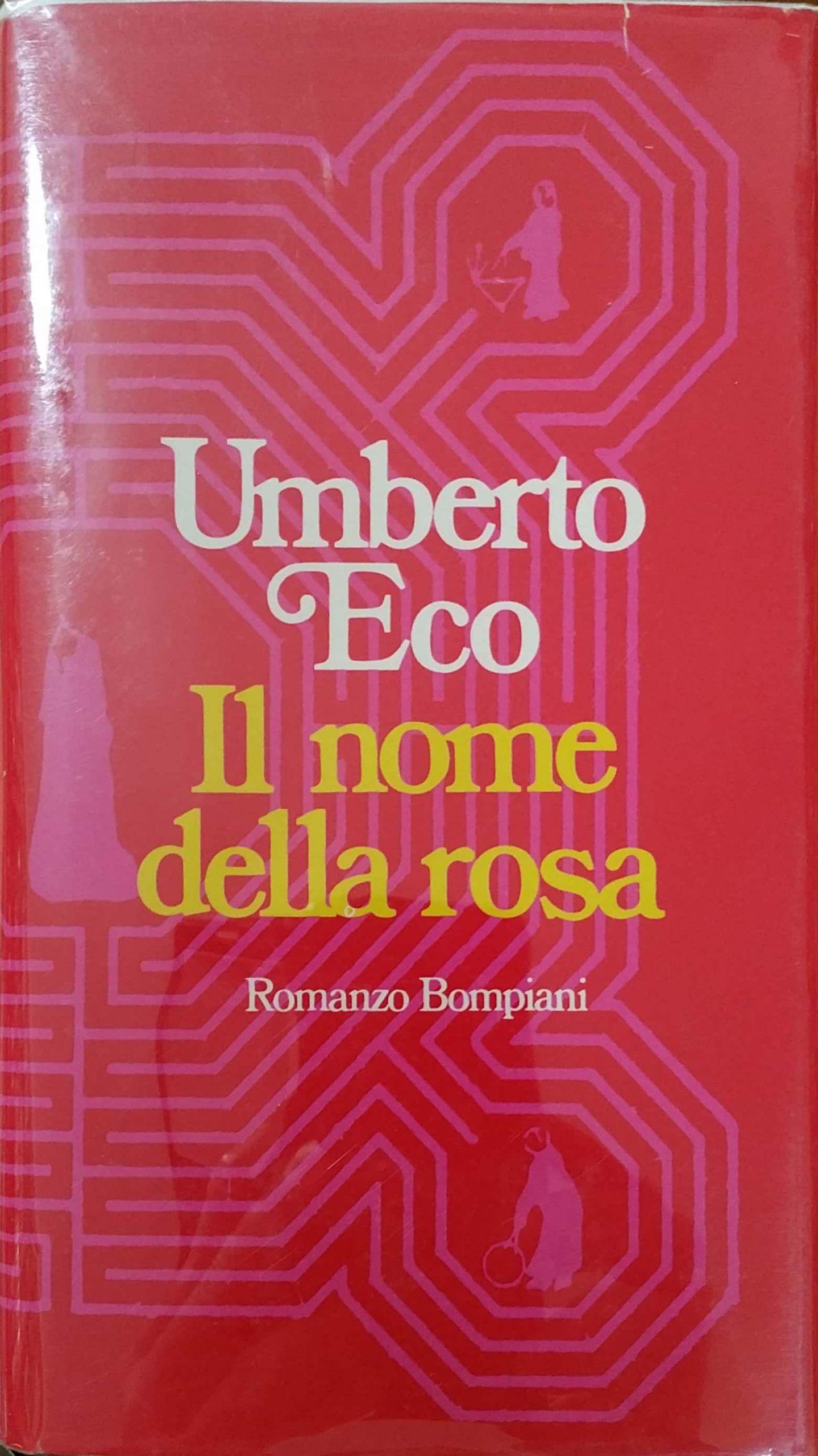 """…su eBay c'è """"Il nome della rosa"""" di Umberto Eco autografato a 4.500 €"""