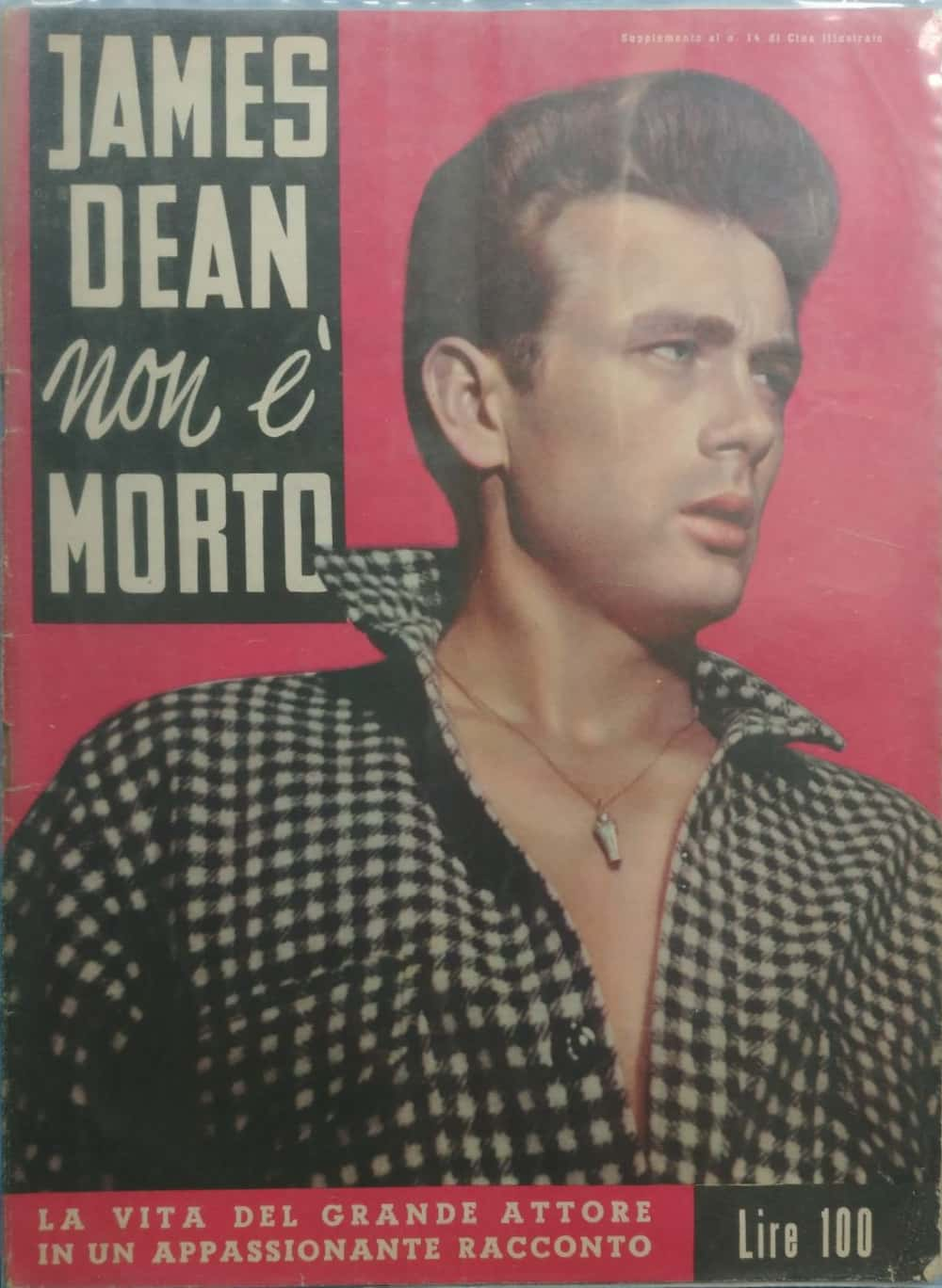…su eBay qualcosa di raro su James Dean!