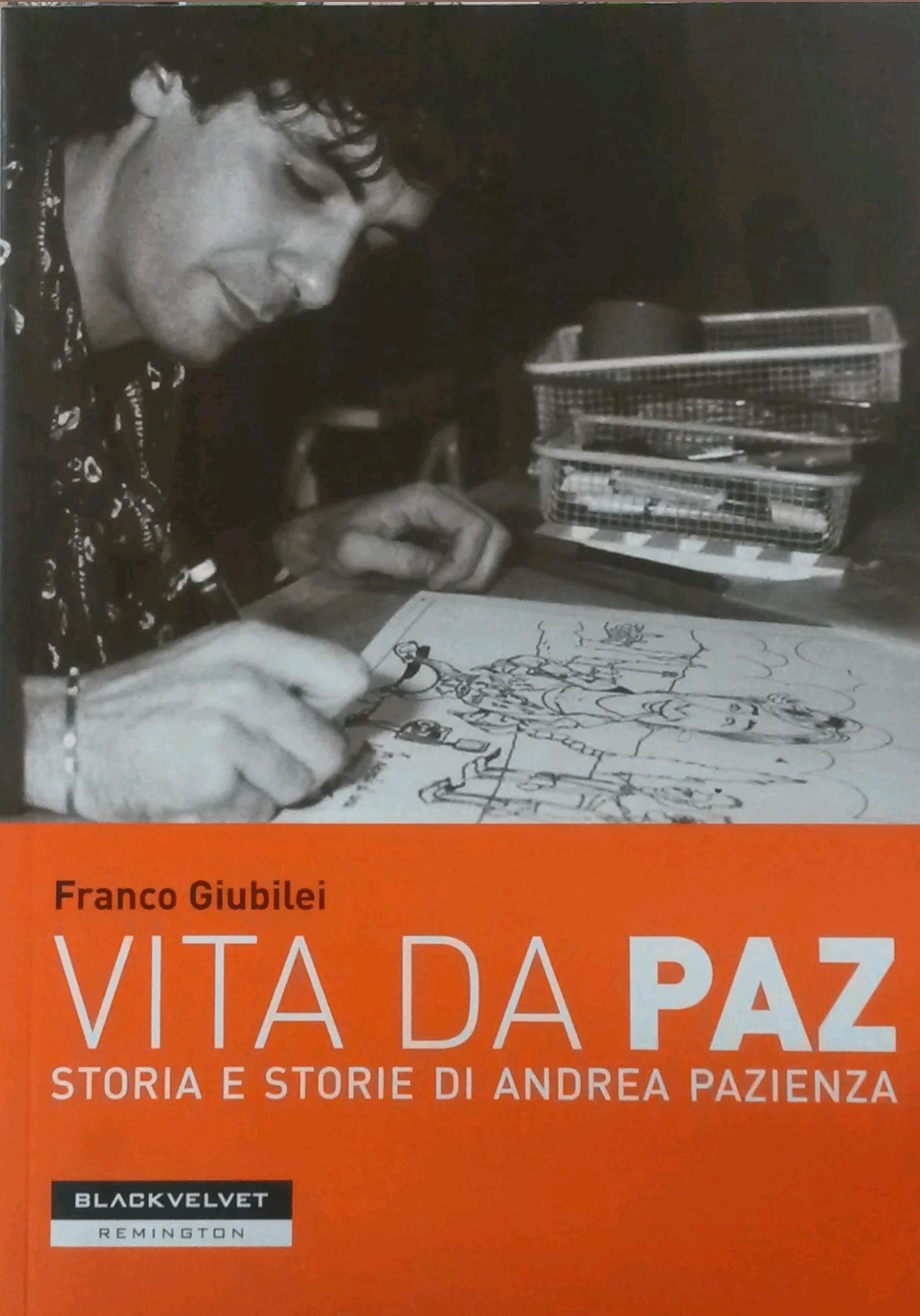 """""""Vita da Paz"""" di Franco Giubilei in bancarella"""