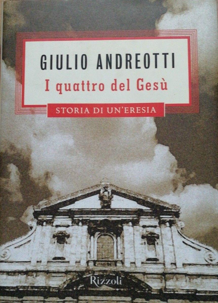 """""""I quattro del Gesù"""" di Giulio Andreotti al mercatino"""