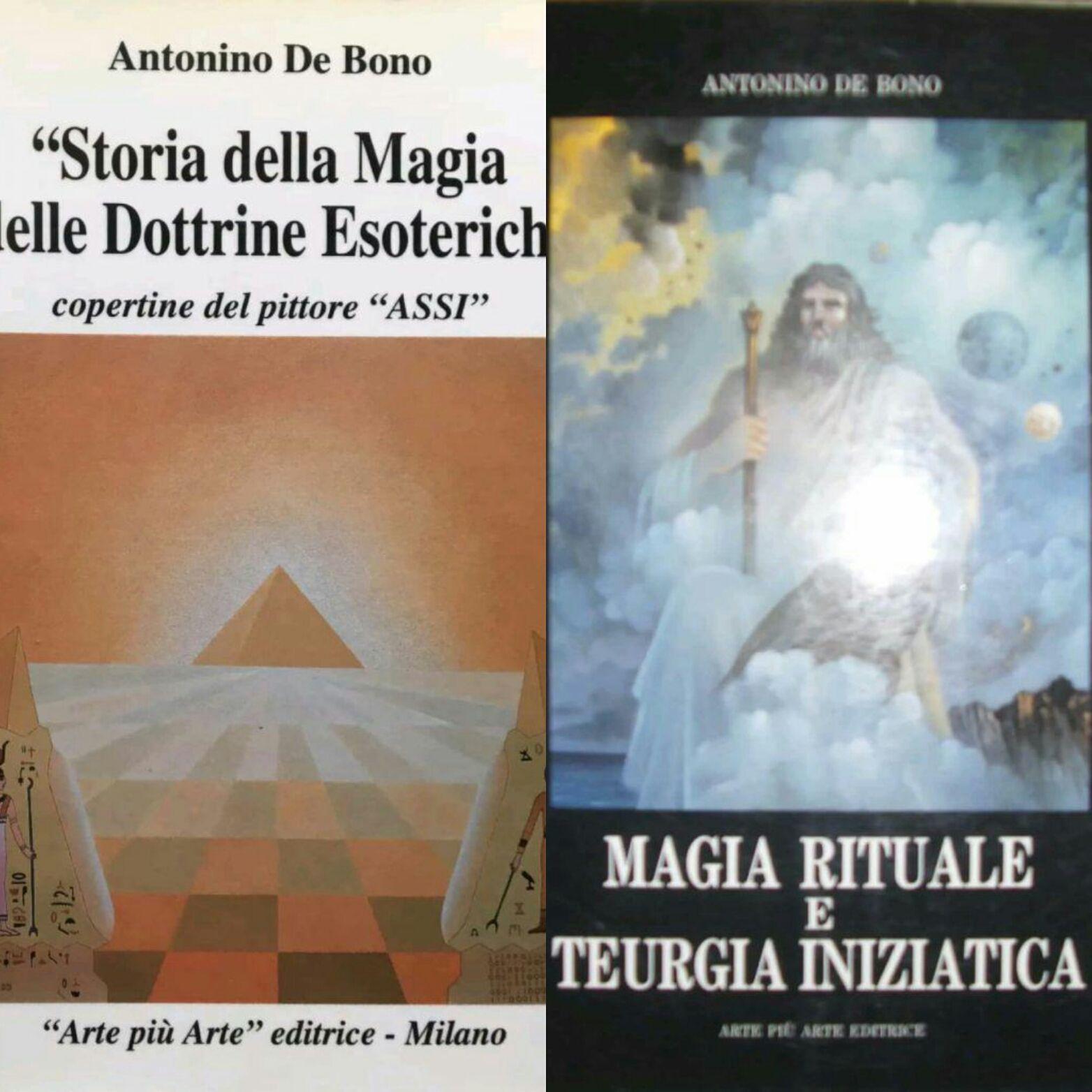 …su eBay ci sono due libri esoterici molto rari di Antonino De Bono