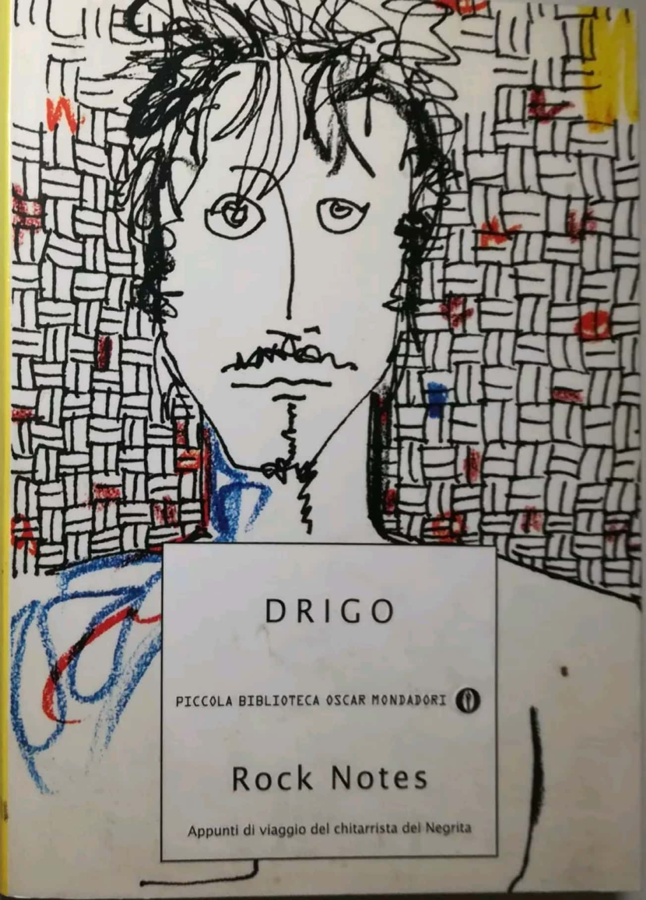 "Un altro libro cult: il raro ""Rock Notes"" di Drigo"