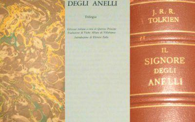 """Venduta una copia de """"Il Signore degli Anelli"""" (""""pelle marrone"""") di Tolkien"""