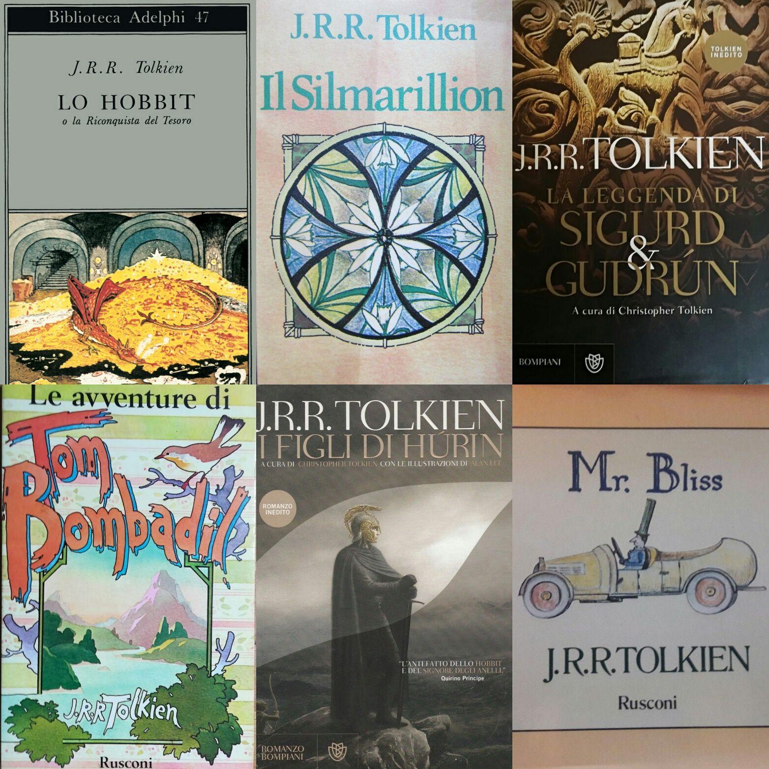Venti prime edizioni economiche di J. R. R. Tolkien