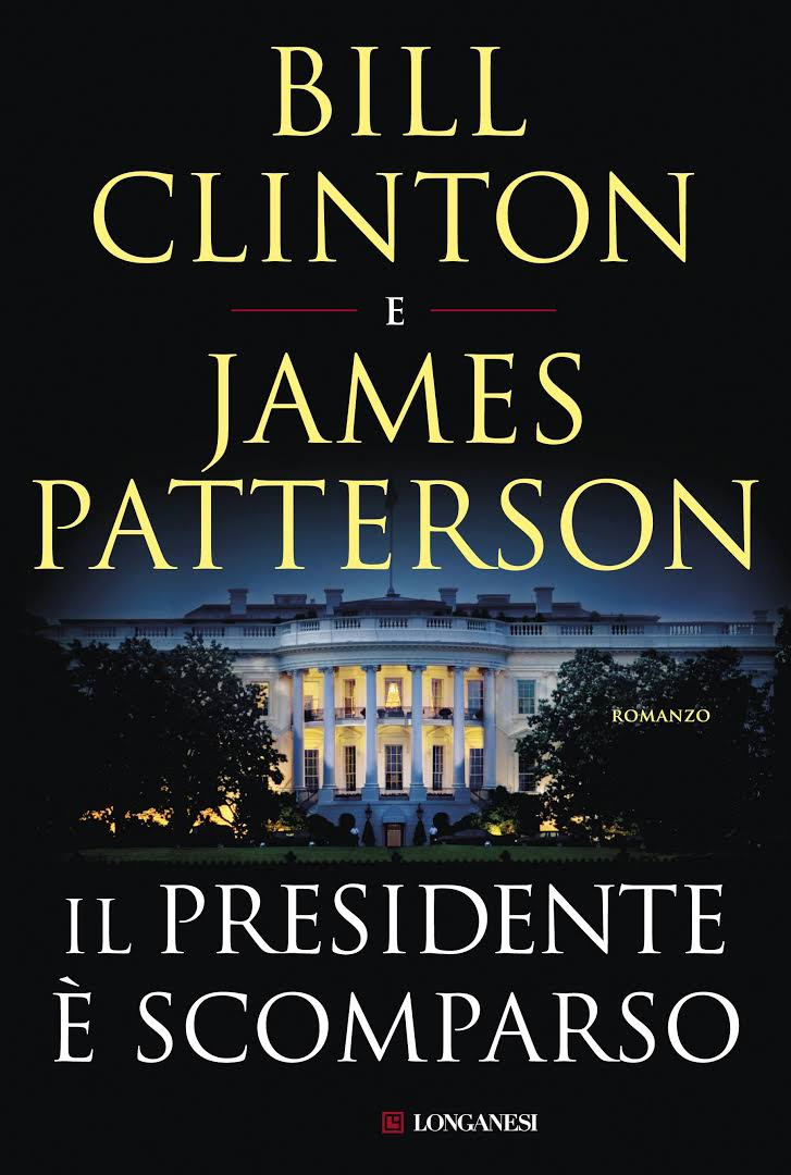 Bill Clinton e James Patterson, nuova coppia thriller?