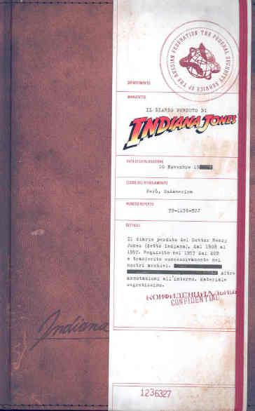 """Una rarità di pregio: """"Il Diario perduto di Indiana Jones"""", di Joanna Price"""