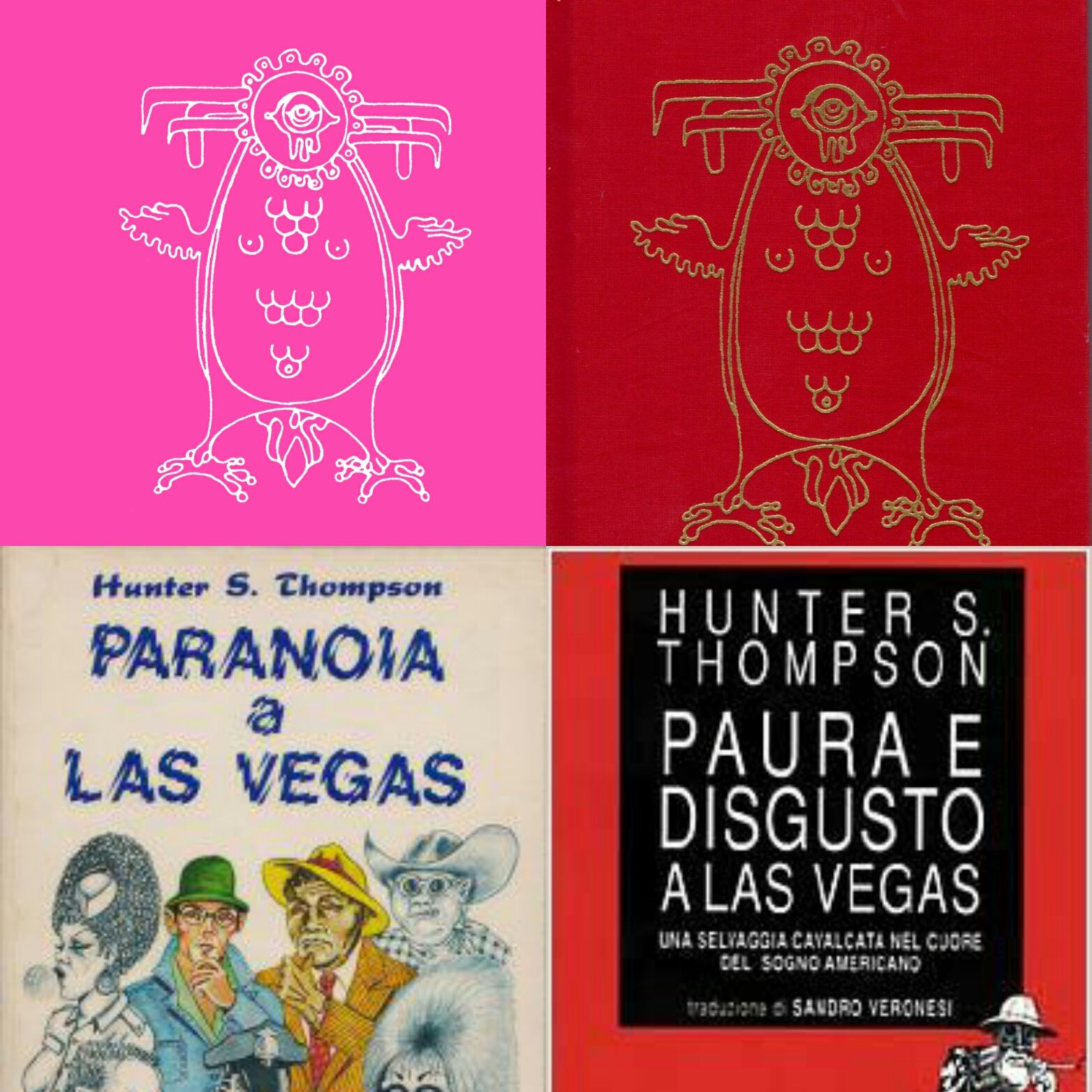 """Paranoia a Las Vegas"" di Hunter Thompson: un mito!"