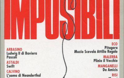 """…su eBay c'è """"Le interviste impossibili"""" (Bompiani, 1989)"""
