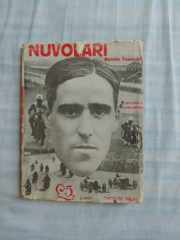 """Il raro """"Nuvolari"""" di Renato Tassinari (1930) in bancarella!"""