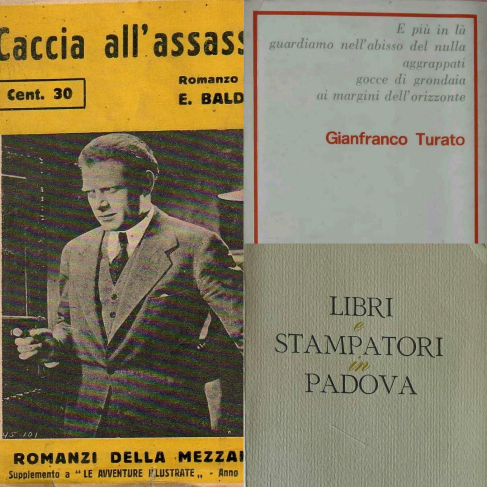 …su eBay ci sono 3 interessanti libri stampati a Padova sconosciuti (o quasi) all'OPAC