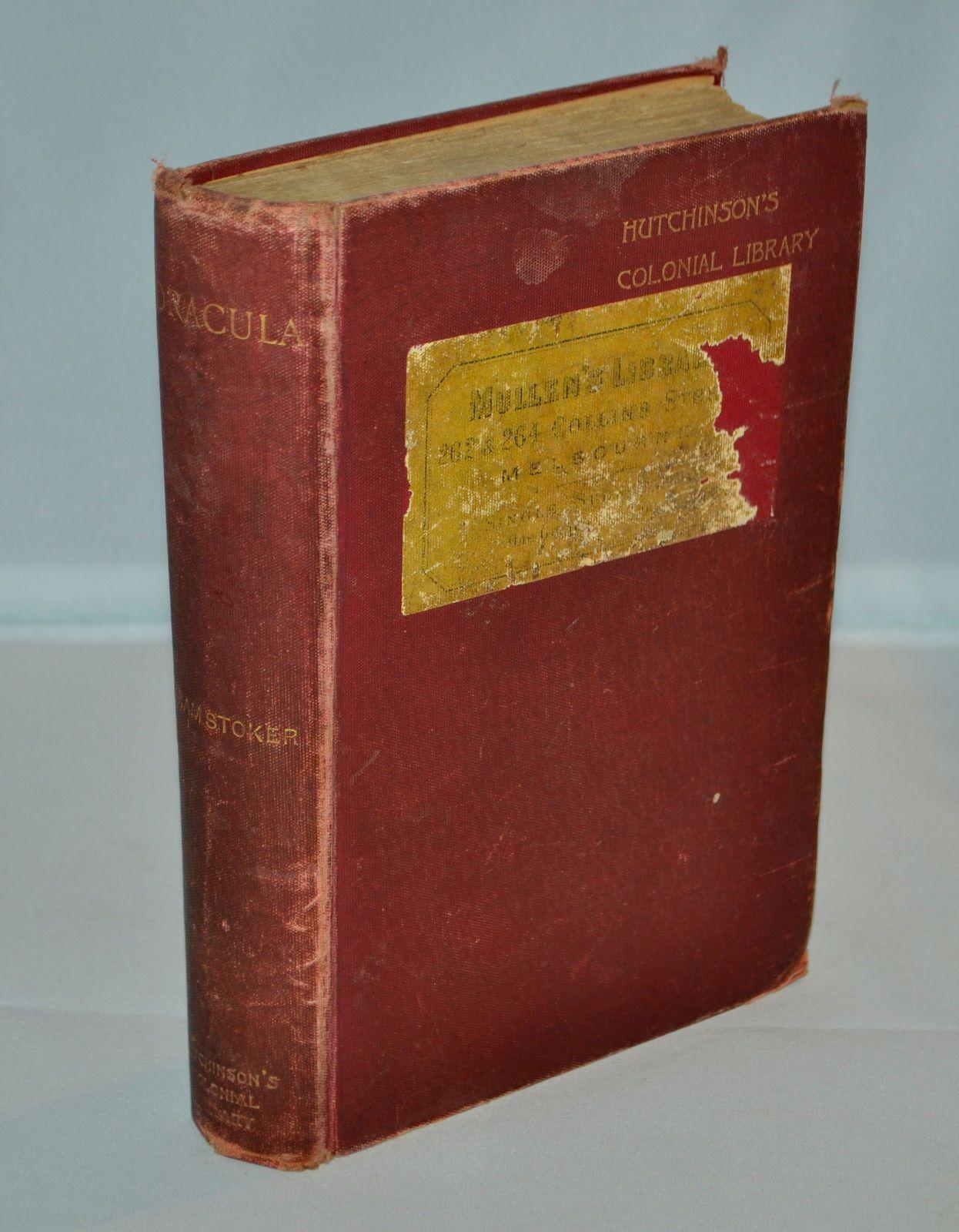 """Su eBay USA l'edizione coloniale di """"Dracula"""" di Bram Stoker: la più rara di tutte"""