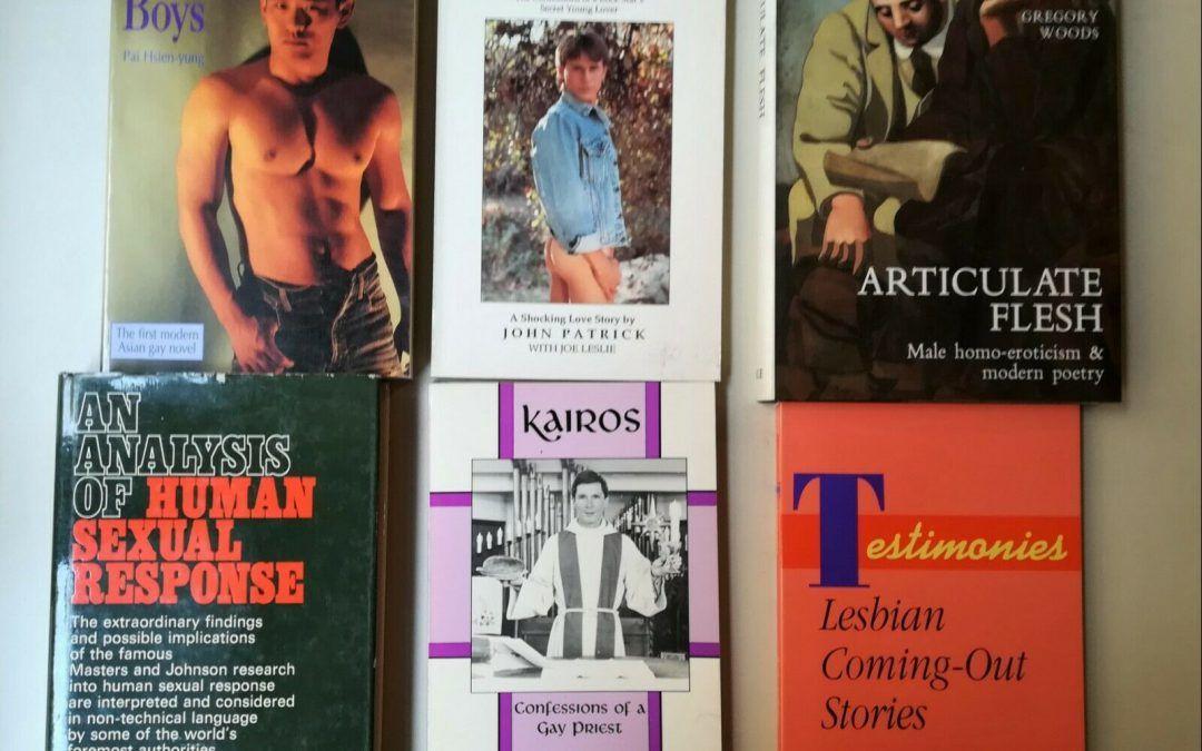 …su eBay c'è un lotto di 700 libri di Erotica/Transgender/Sex/Homosex