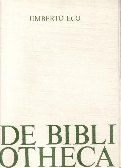 Quattro rarità di Umberto Eco in vendita su eBay