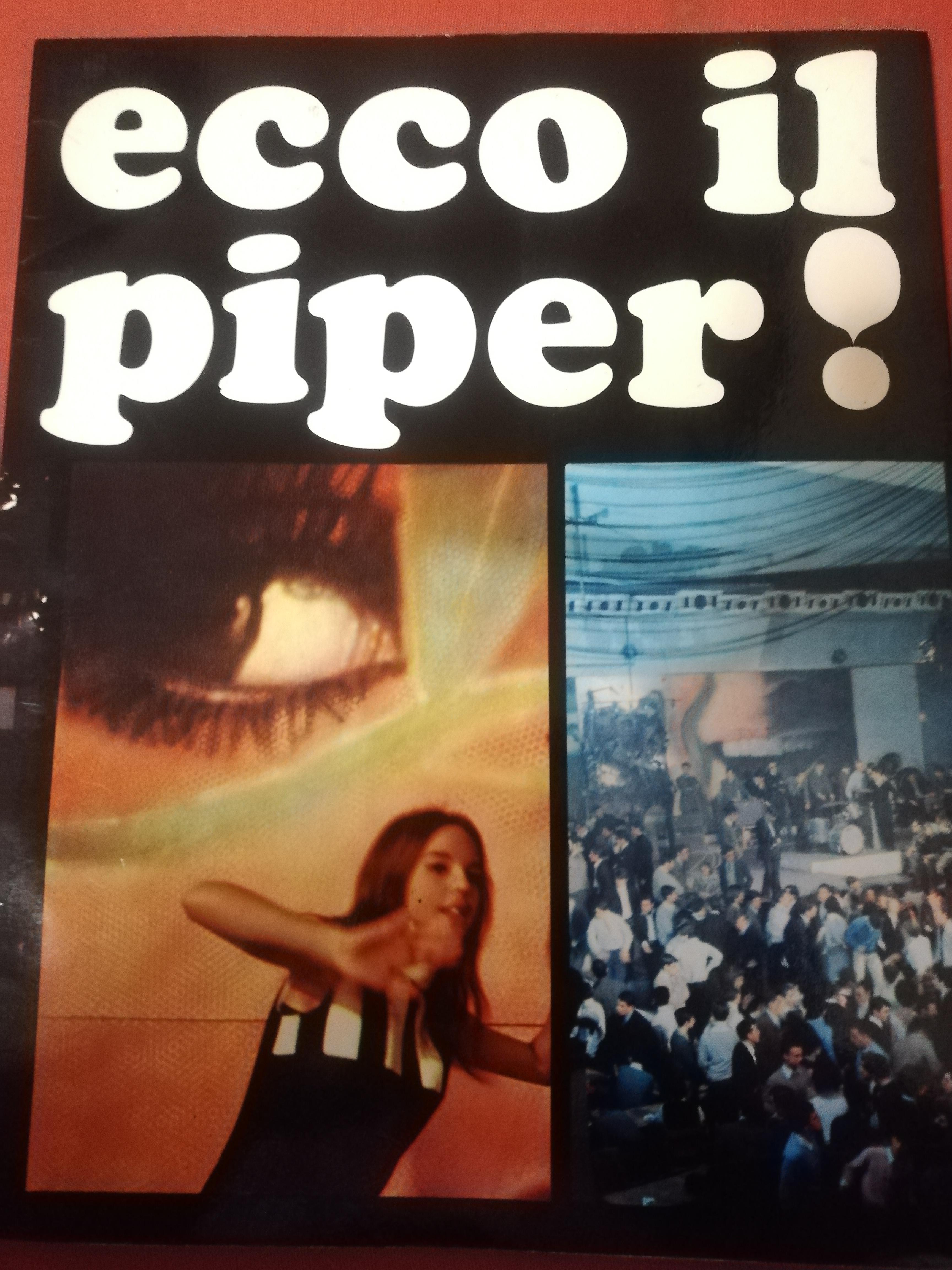 """Una rara copia di """"Ecco il Piper!"""" in vendita!"""