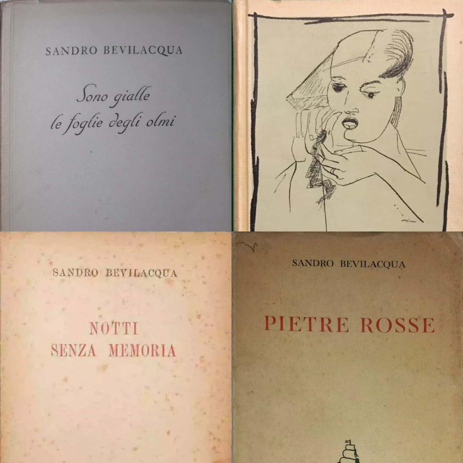 Diamo uno sguardo ai primi libri (e rispettive valutazioni) di Sandro Bevilacqua