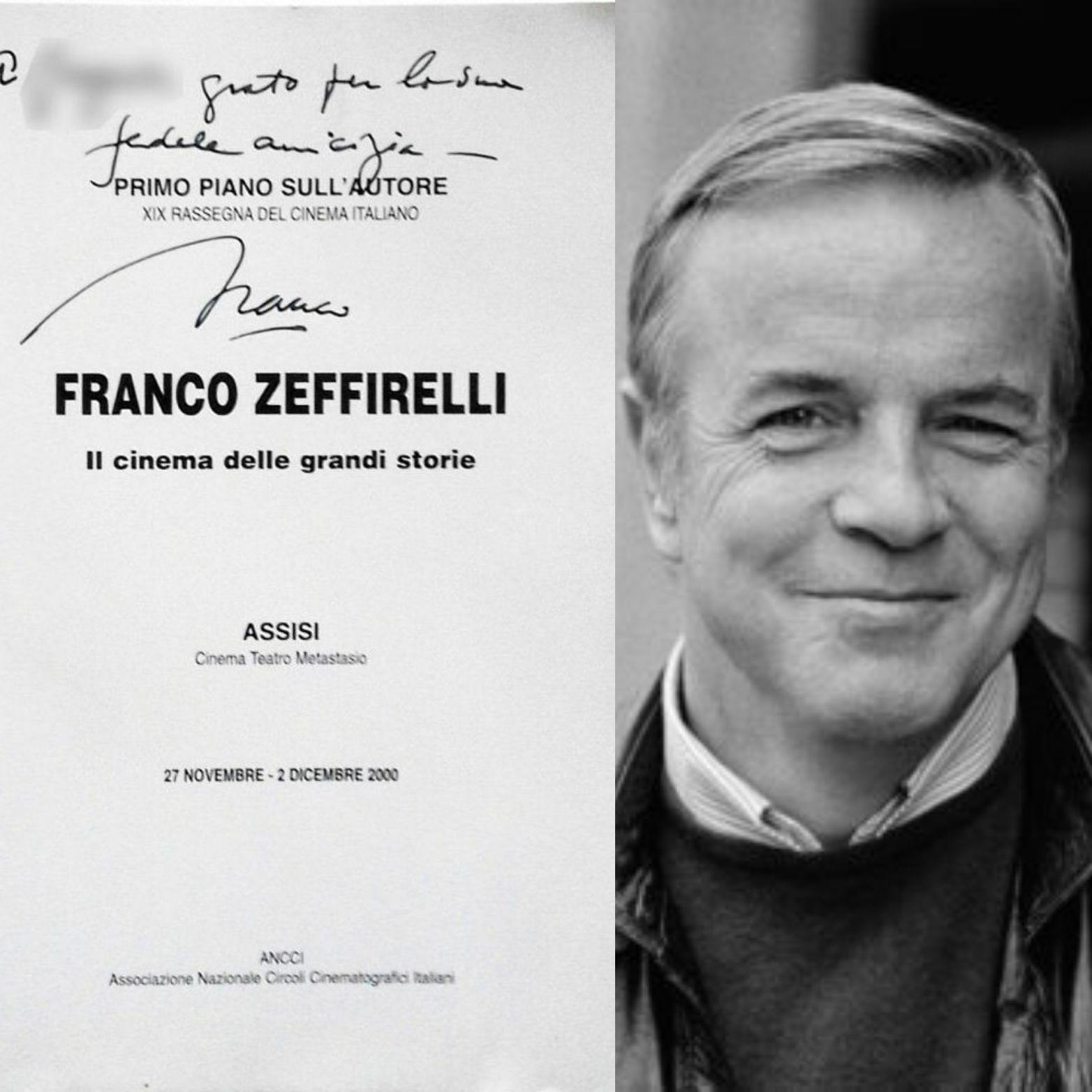 …su eBay c'è un libro autografato dal regista Franco Zeffirelli a 50€