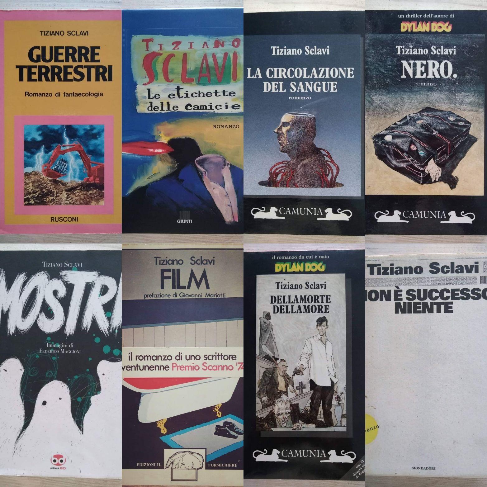 Tiziano Sclavi: trovare a poco prezzo i suoi primi libri è un'impresa!