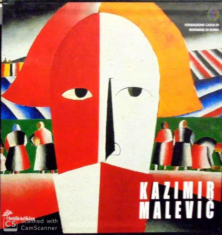 """""""Oltre la figurazione oltre l'astrazione"""" di Kazimir Malevich al mercatino"""