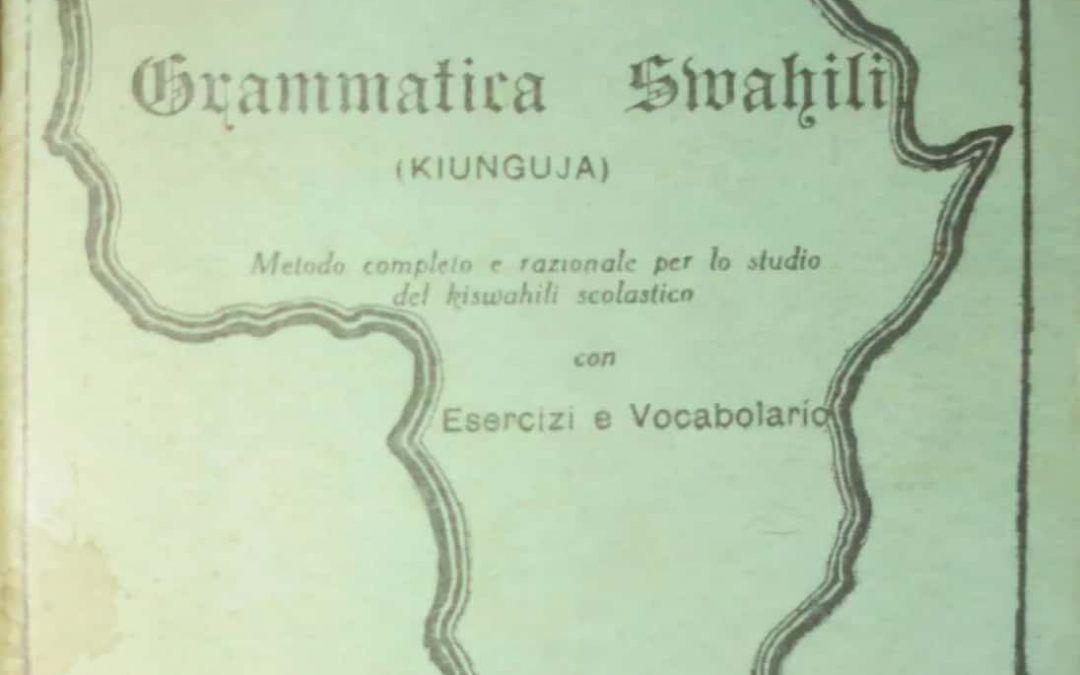 Qualche libro in lingua italiana stampato in Kenya… alla scoperta dello Swahili!
