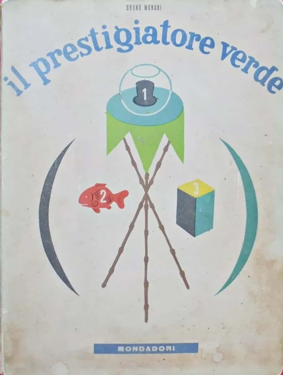 """""""Il prestigiatore verde"""" di Bruno Munari venduto su Catawiki"""
