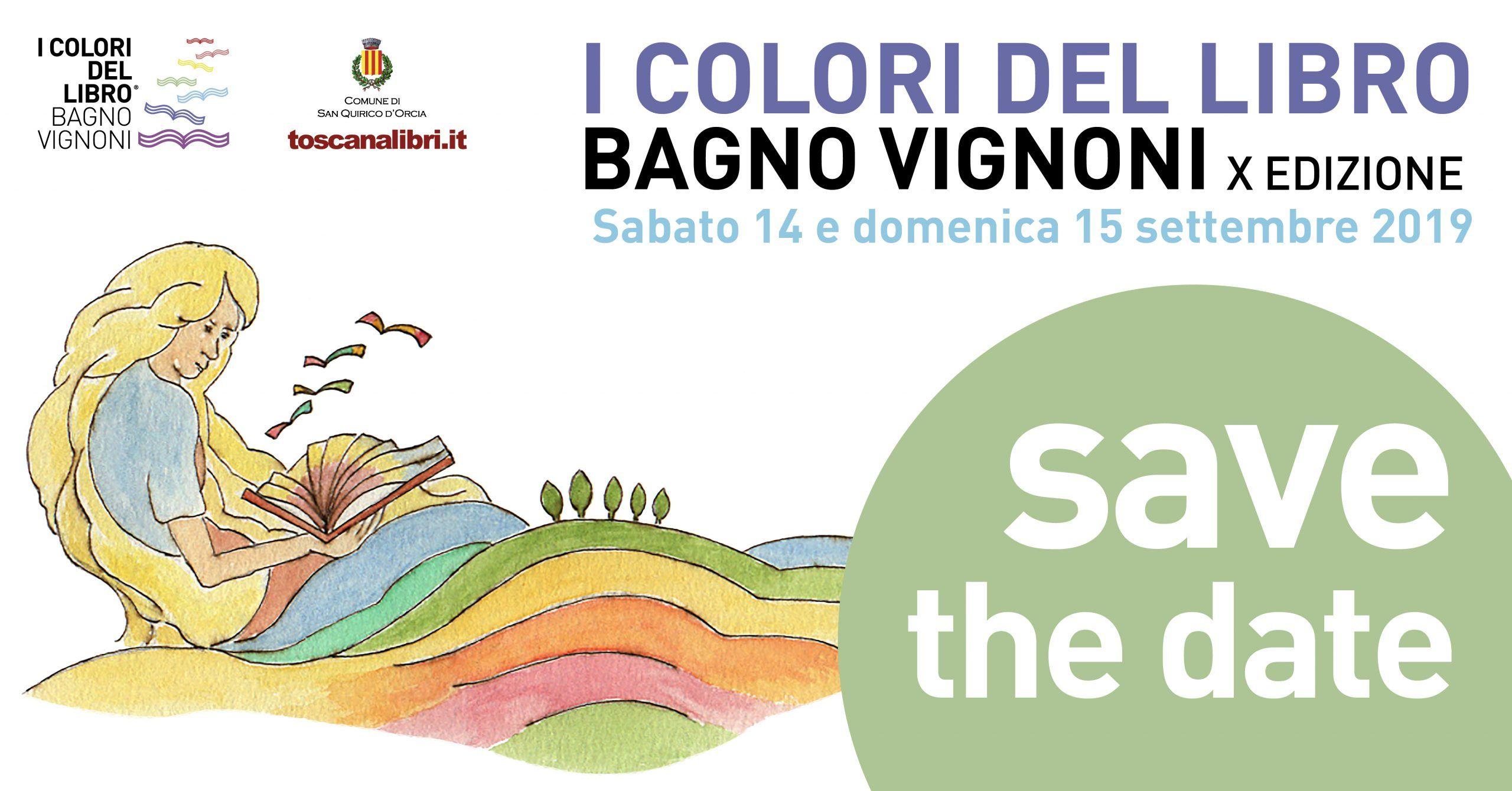 Il Cacciatore di libri a Bagno Vignoni (SI) il 14 & 15 Settembre 2019!