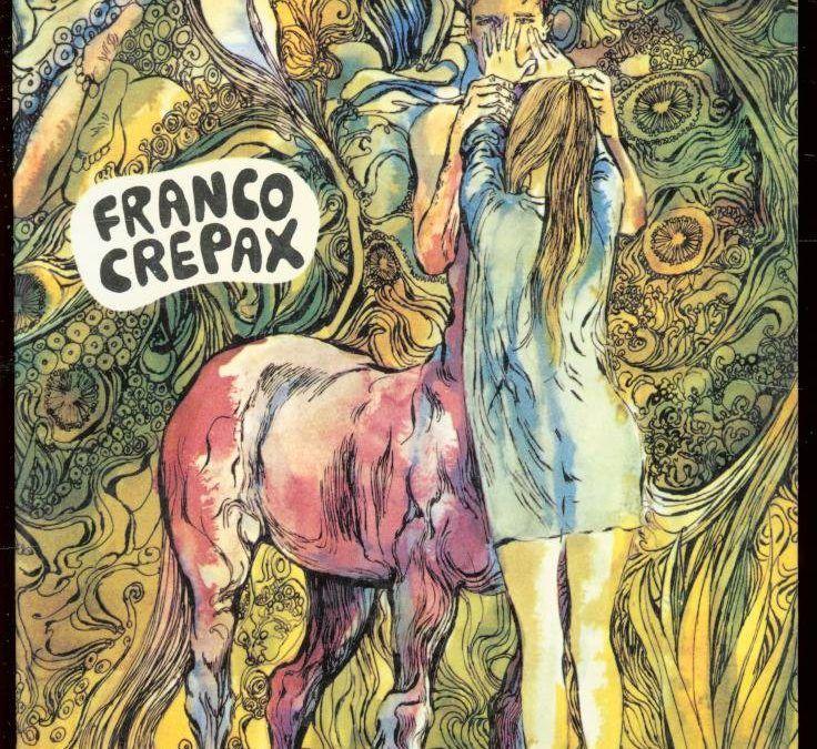 """""""Il corpo umano"""", primo libro di Franco Crepax, un Bompiani poco conosciuto"""