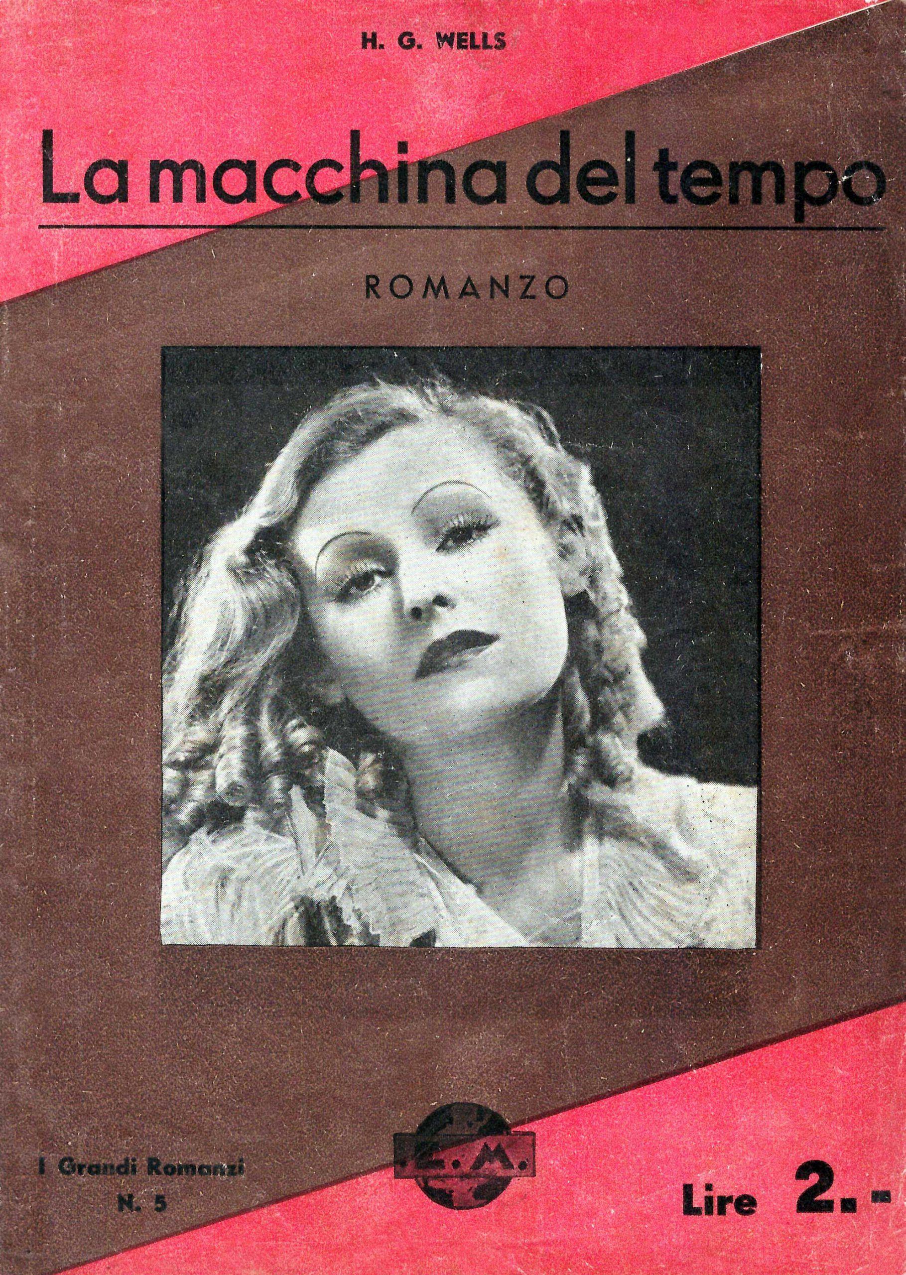 """Scoperta una nuova edizione italiana de """"La macchina del tempo"""" di H. G. Wells?"""