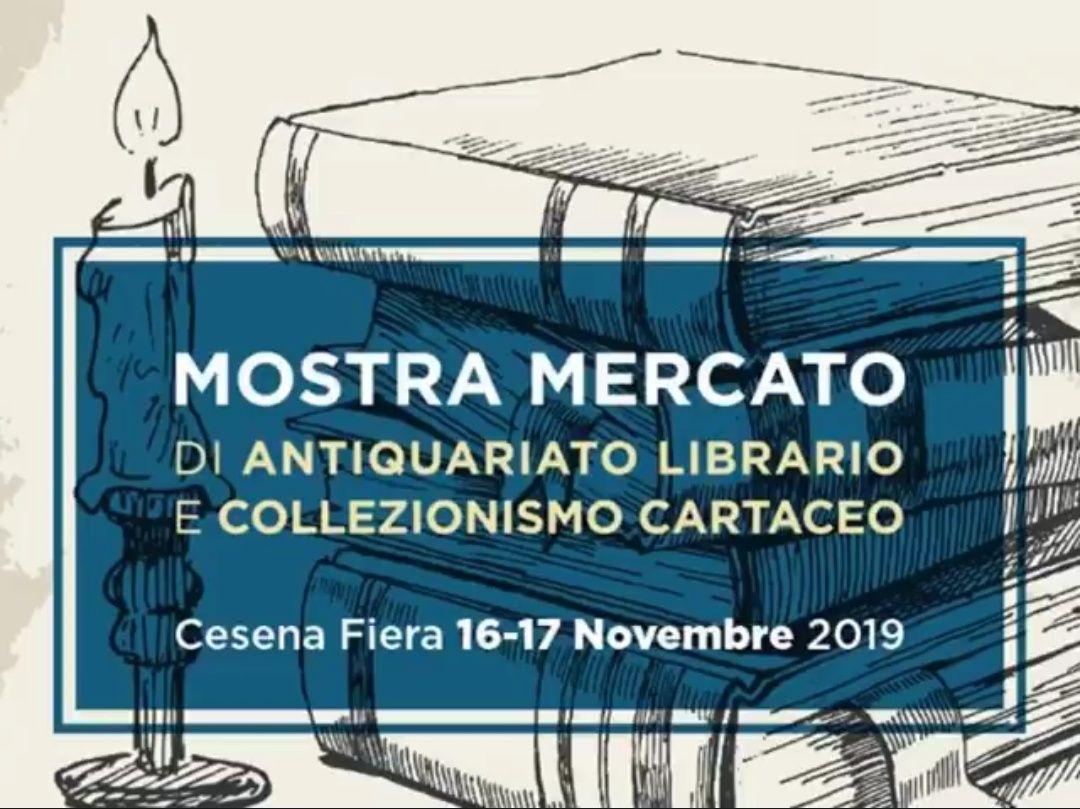 Tutti alla Fiera del libro di Cesena il 16 & 17 Novembre 2019