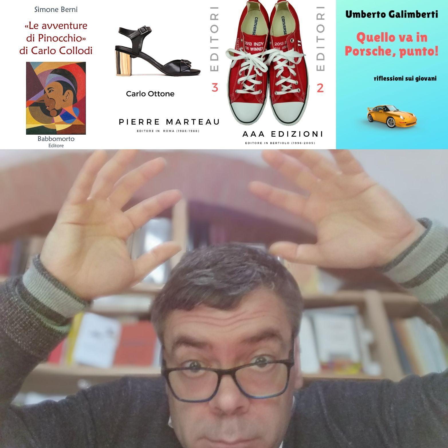 Aiuto! Le novità mi schiacciano! Venite a Cesena il 16-17 Novembre…