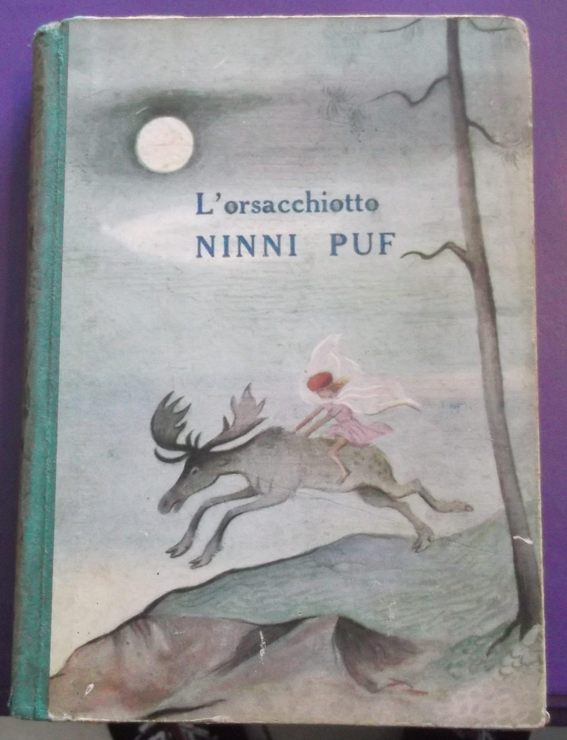 """Una copertina sconosciuta per """"L'orsacchiotto Ninni Puf"""" di A. A. Milne"""