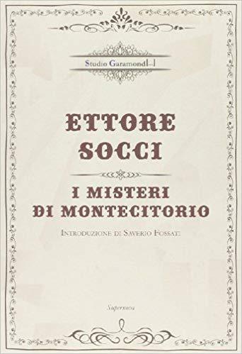 """""""I misteri di Montecitorio"""" di Ettore Socci al mercatino"""
