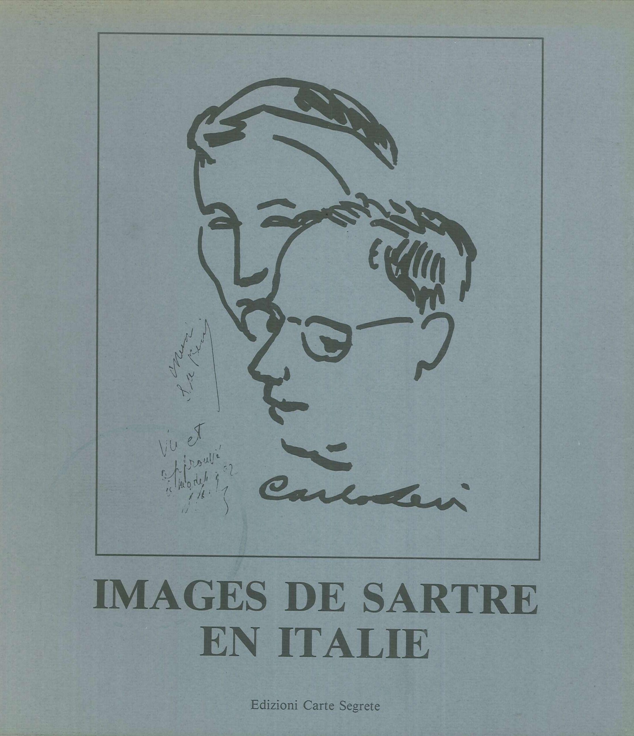 """""""Images de Sartre en Italie"""" a Porta Portese"""