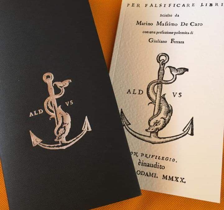 Charta: l'ultima recensione è per il «libro nero»!