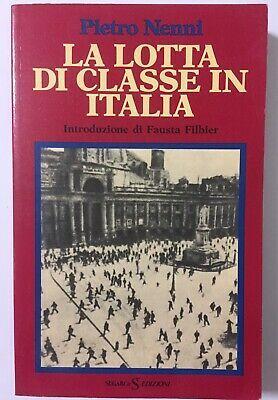 """""""La lotta di classe in Italia"""" di Pietro Nenni al mercatino"""