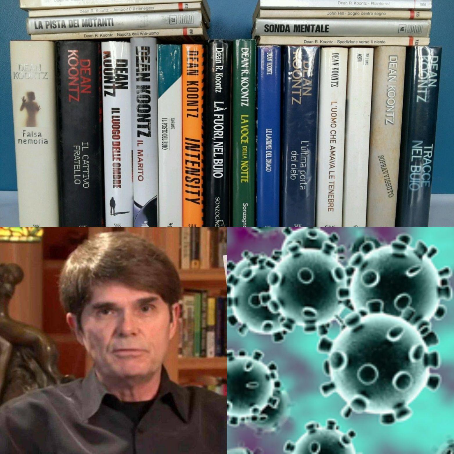 Dean Koontz: 22 prime edizioni in vendita in blocco su eBay a 8 € l'una!