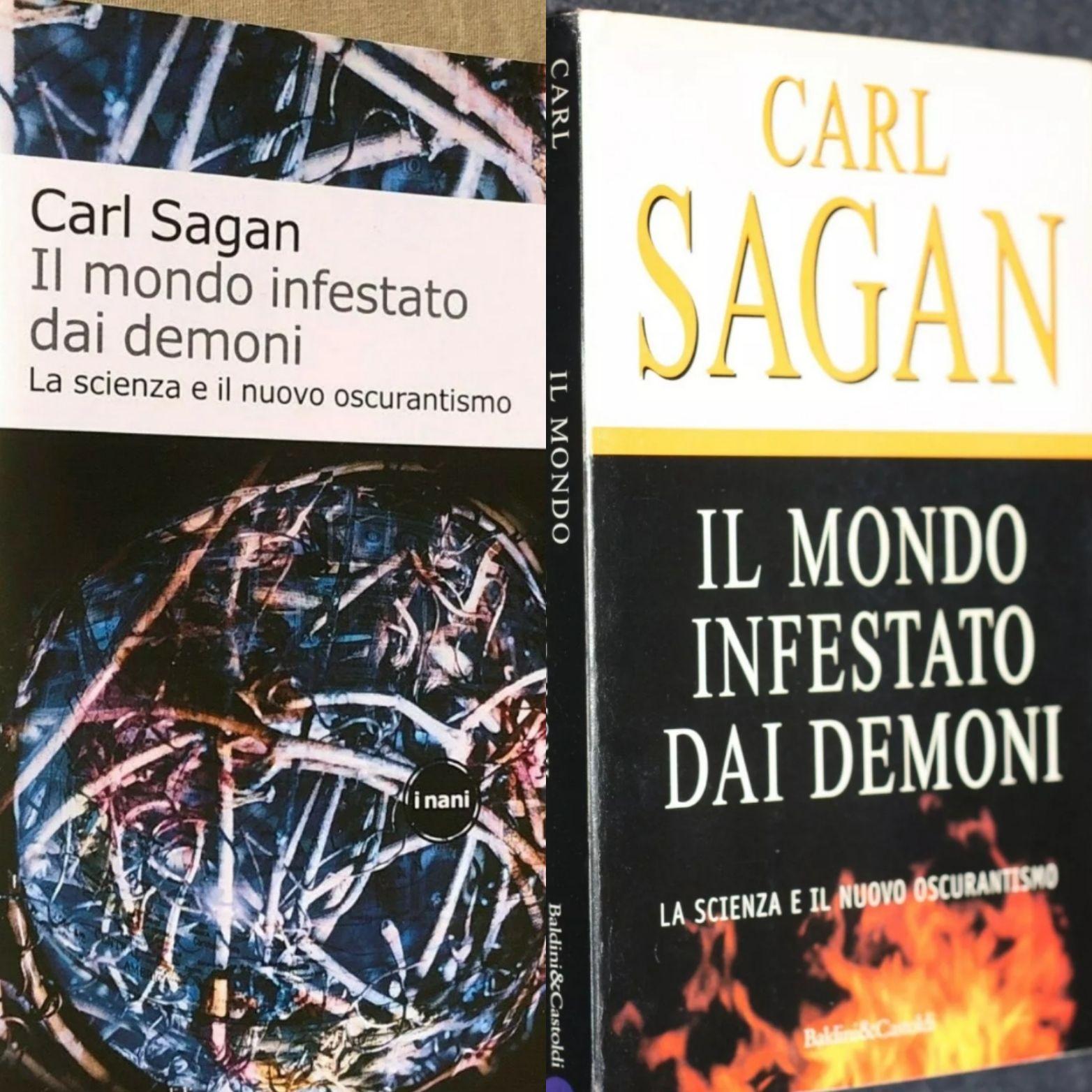 """""""Il mondo infestato dai demoni"""" di Carl Sagan: valutazioni sempre alte!"""