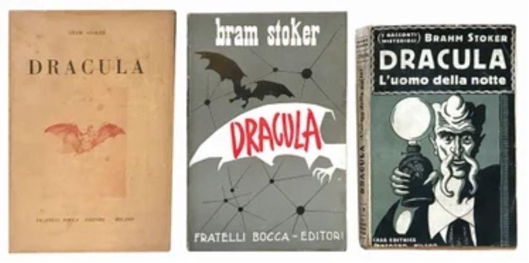 """Vendute su Liveauctioneers le prime tre edizioni italiane di """"Dracula"""""""