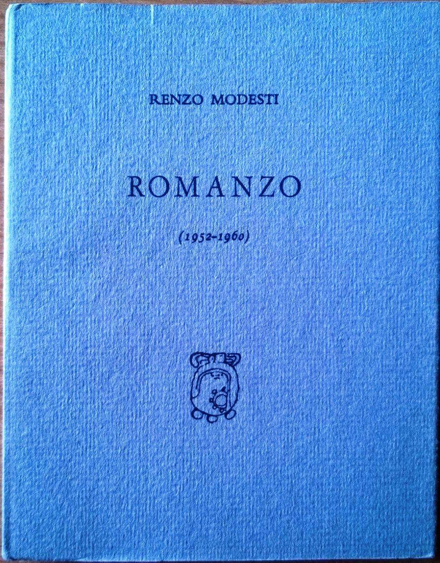 """""""Romanzo"""", una raccolta di poesie di Renzo Modesti in libreria"""