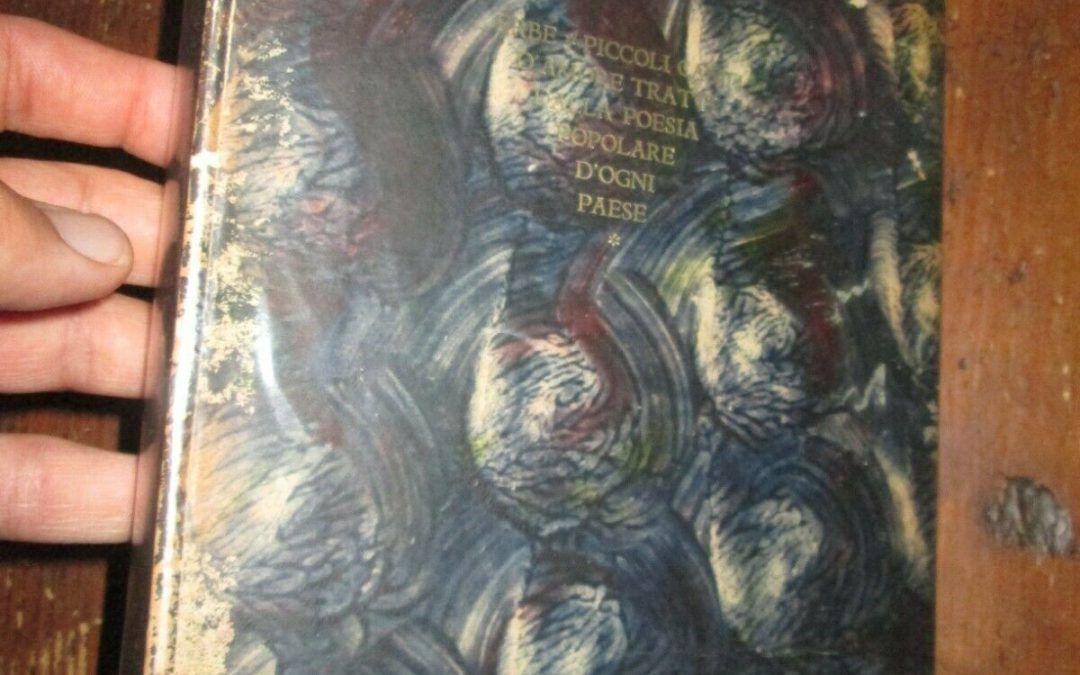 """Un rarissimo libro di poesie """"ad personam"""" per Alberto Mondadori"""