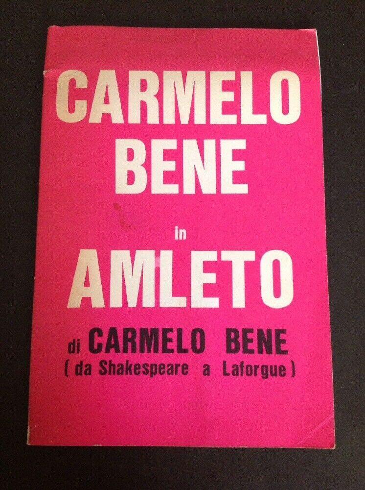 Raro libro su Carmelo Bene appare su eBay