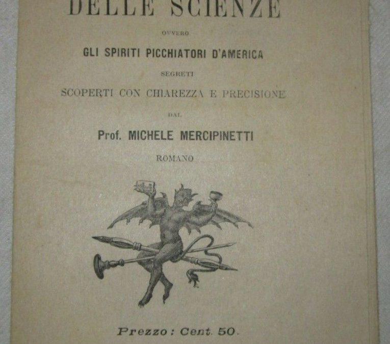 Rarissimo libricino di prestidigitazione e trucchi di magia della fine dell'800