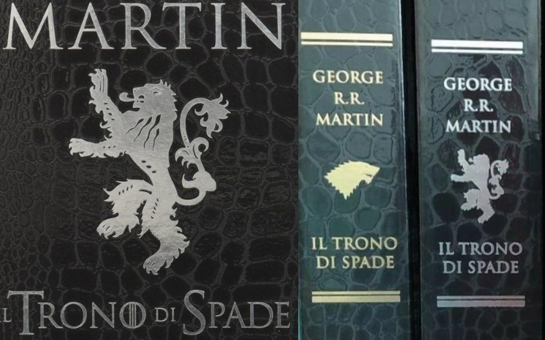 """In asta i 5 volumi de """"Il Trono di Spade"""" di George R. R. Martin in Edizione Deluxe"""