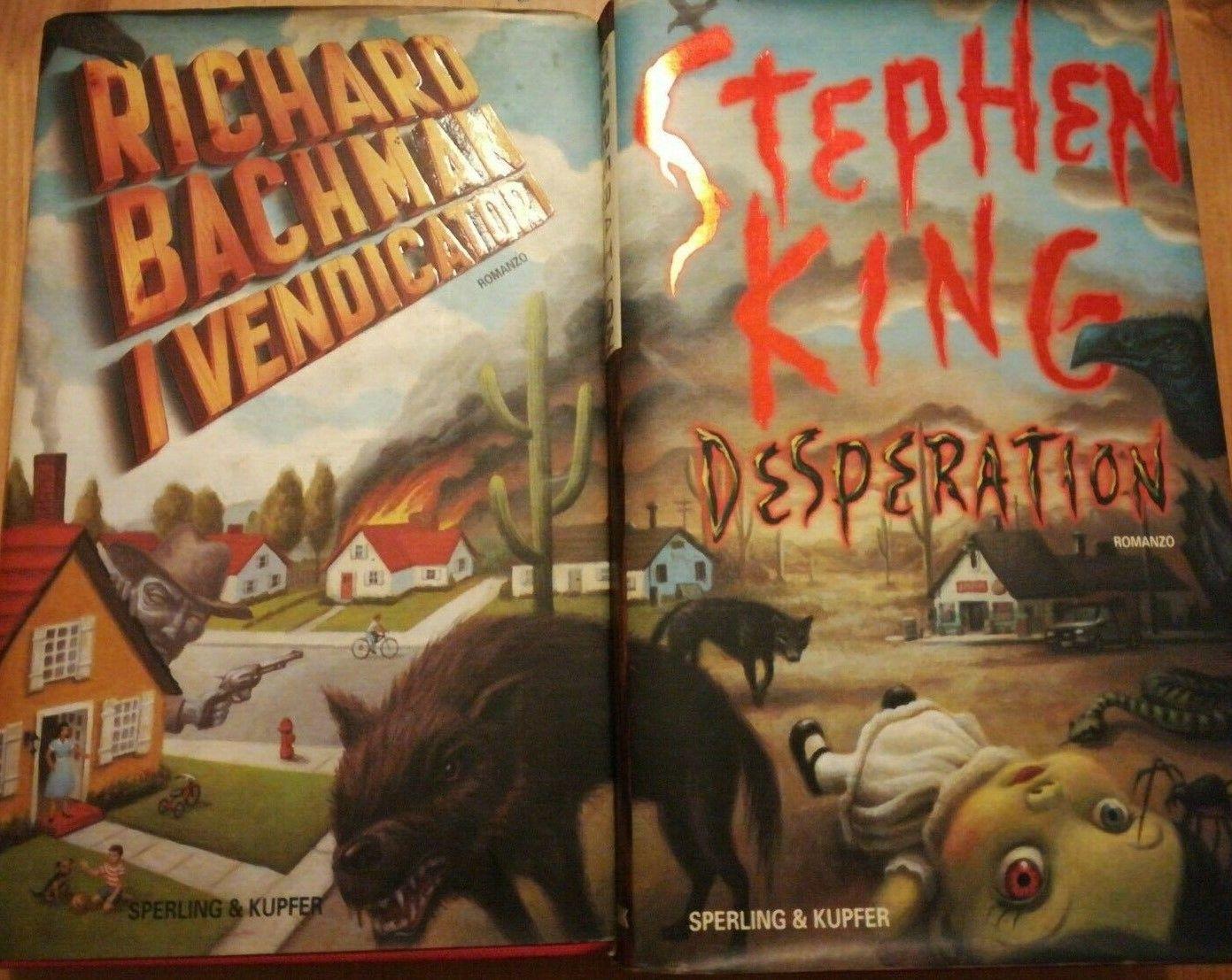 Che spettacolo: 2 libri di Stephen King con la copertina in comune!