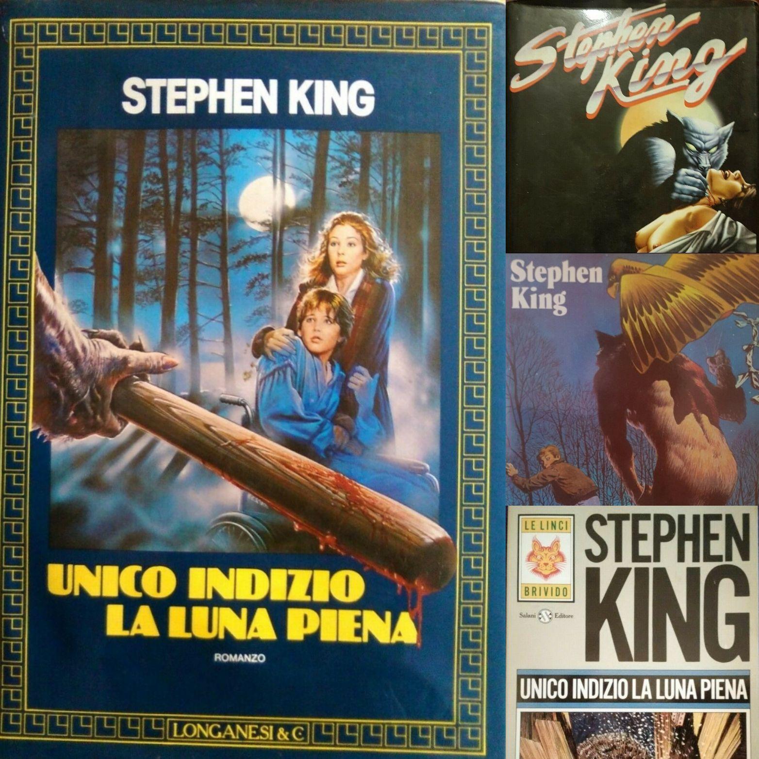 """Escalation di interesse per """"Unico indizio la luna piena"""" di Stephen King su eBay"""